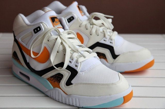 Nike Air Tech Challenge Ii White Kumquat 6