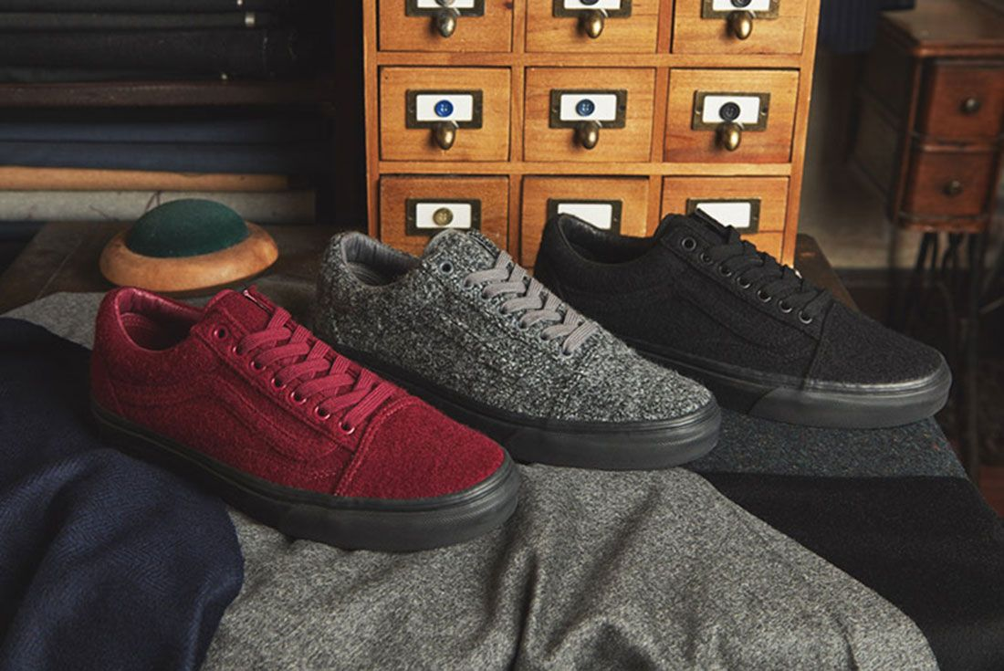 Size X Vans Old Skool Wool Pack 1