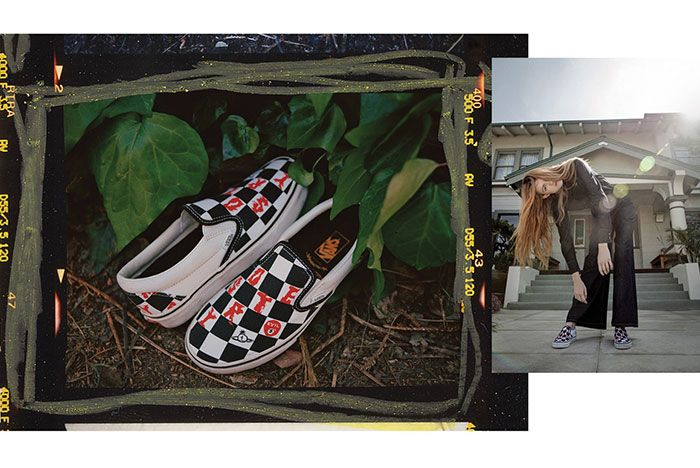 Vivien Westwood Vans Lookbook1 Slip On