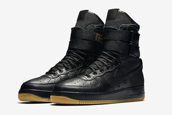 Nike Sf Air Force 1 Black 1