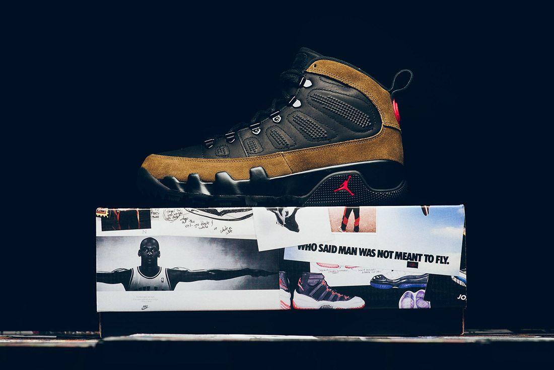 A Closer Look At The Air Jordan 9 Boot Nrg Olive11