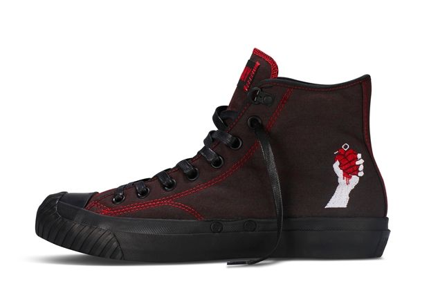 Converse Chuck Taylor All Star Green Day American Idiot Black 1