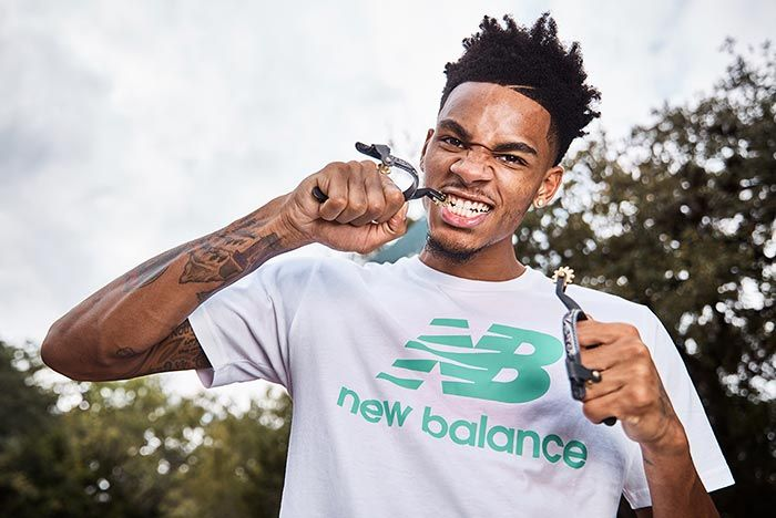 Dejounte Murray Joins New Balance Biting Spur