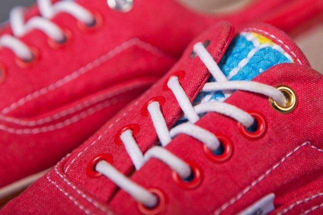 Clot X Vans 2012 Holiday Collection Red Era Details 1