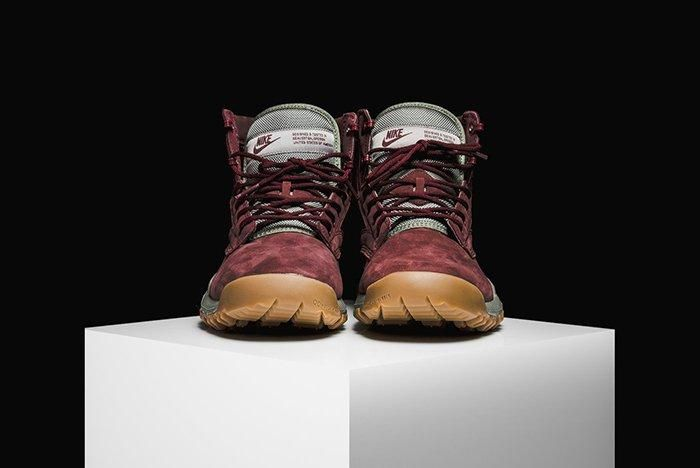 Nike Sfb Field 6 Leather Boot Dark Team Red 4