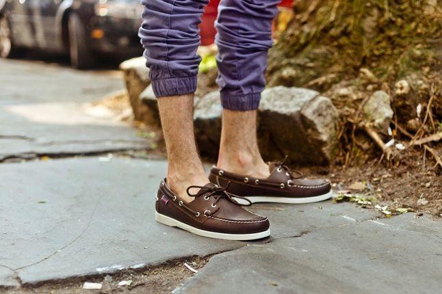 Sebago Boat Brown Leather Promo 1
