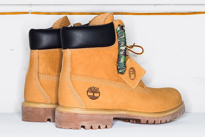 Bape Undefeated Timberland 6 Inch Boot 2