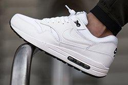 Nikeair Max 1 White Black Thumb1
