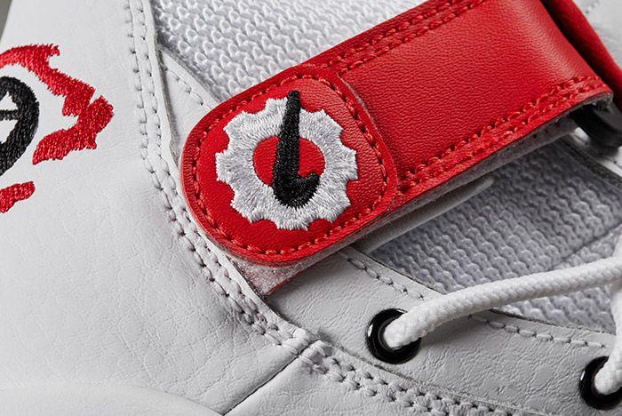 Nike Air Shake Ndestrukt Retro White Red 2