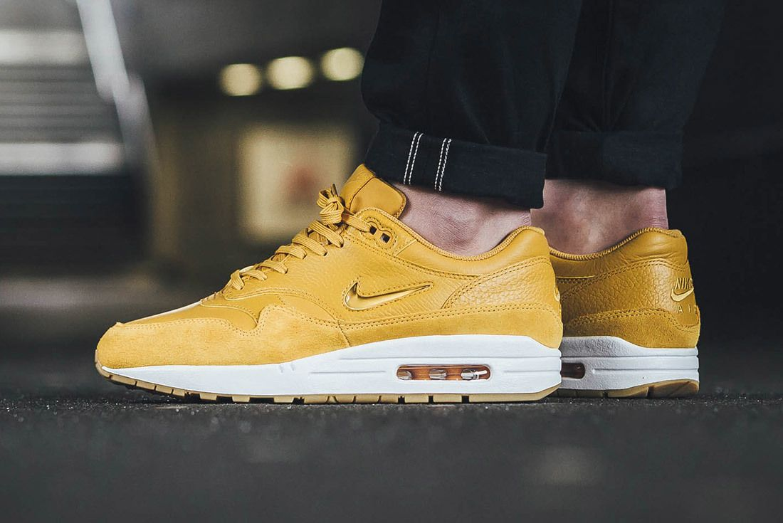 Nike Air Max 1 Jewel Mustard Yellow 6