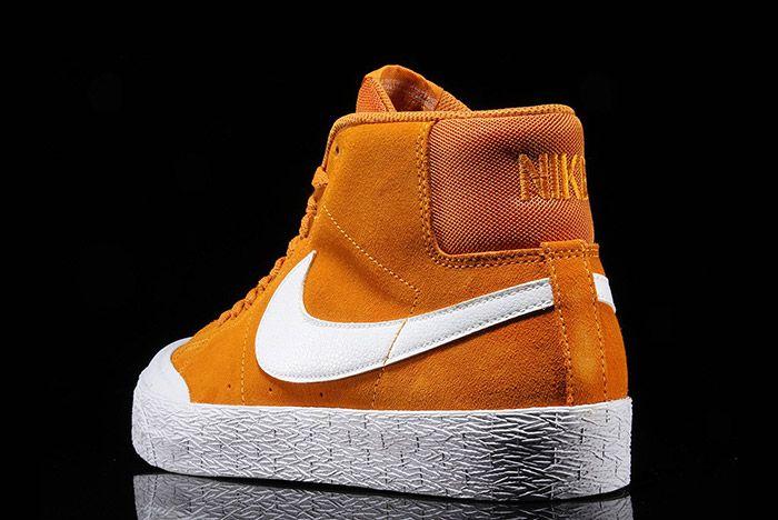 Nike Sb Blazer Circuit Orange 2