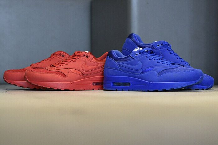 Nike Air Max 1 Royal Blue Sport Red 1