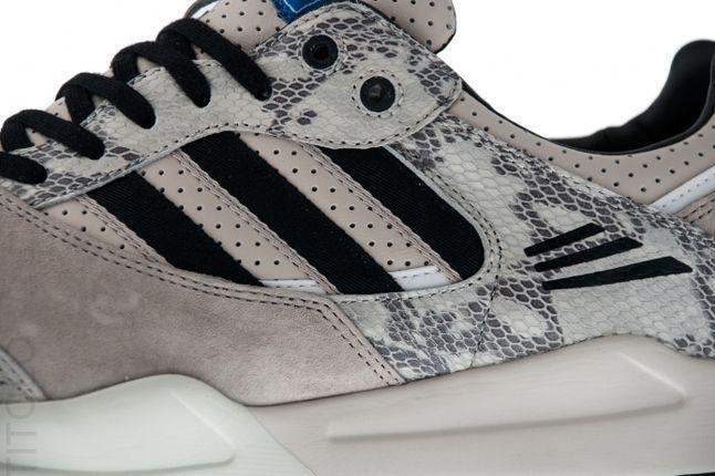 Adidas Tech Super Snakeskin Pack Grey Detail 1