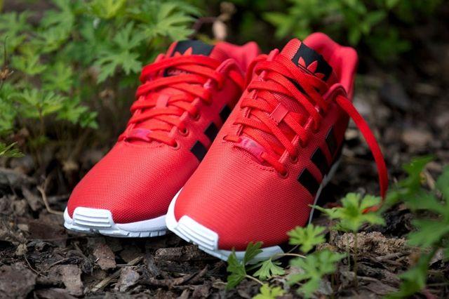 Adidas Zx Flux Poppy Red 1