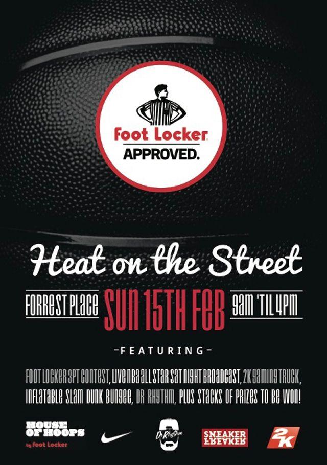 Footlocker Perth Event