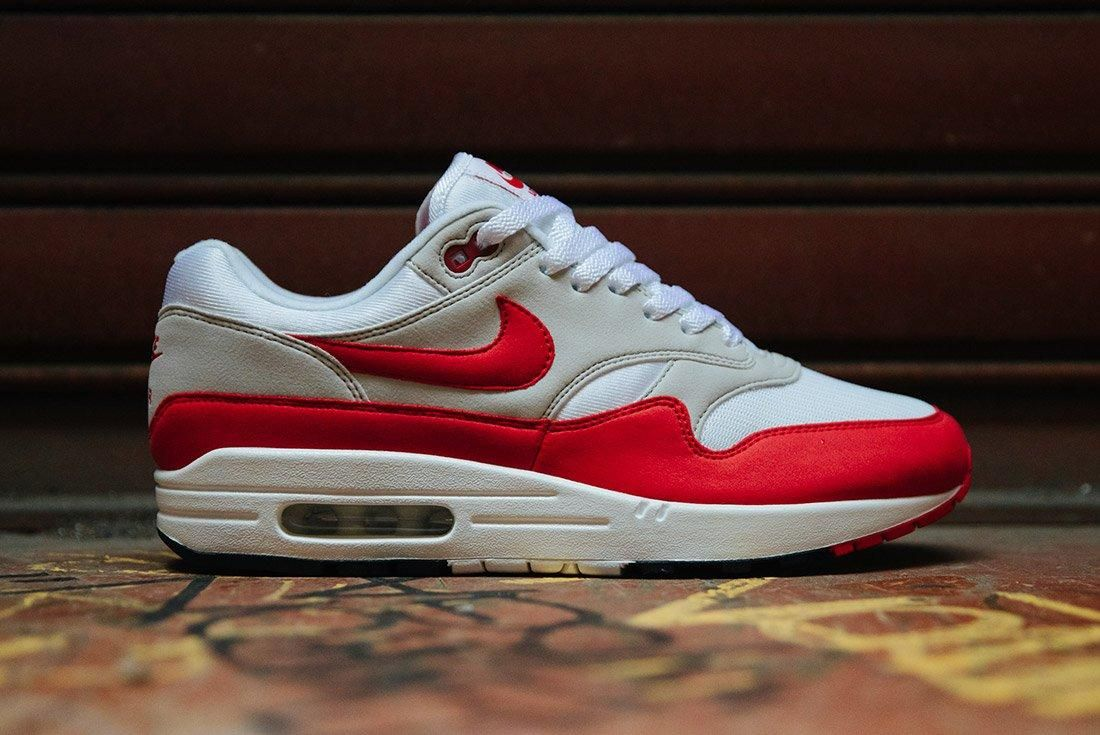 Nike Air Max 1 Anniversary Og Red White 7