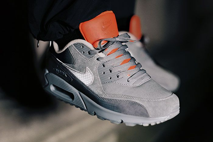 The Basement X Nike Air Max 90 Glasgow Lookbook On Foot3