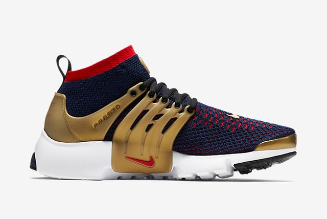Nike Air Presto Flyknit Ultra Olympic Pack (Navy / Red