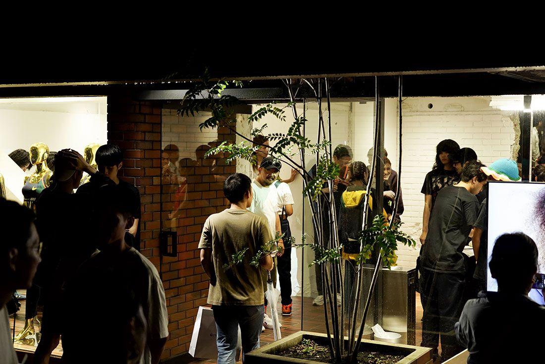 Tokyo Pop Up Launch Sacai X Nike Party17