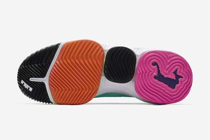 Nike Lebron 16 Hyper Jade Outsole