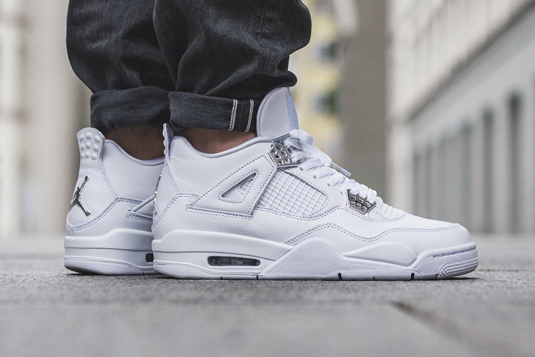 Up Close With The Air Jordan 4 Pure Money10