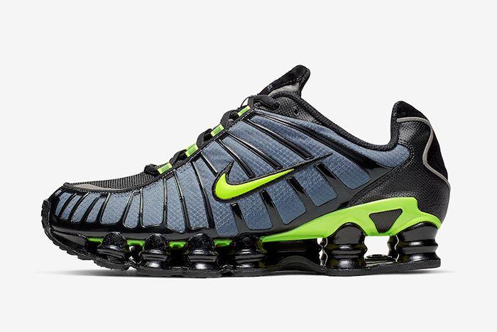 Nike Shox Tl Thunder Storm Volt Left