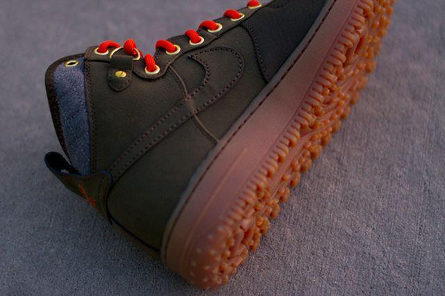 Nike Air Force One Duckboot Dark Loden 2