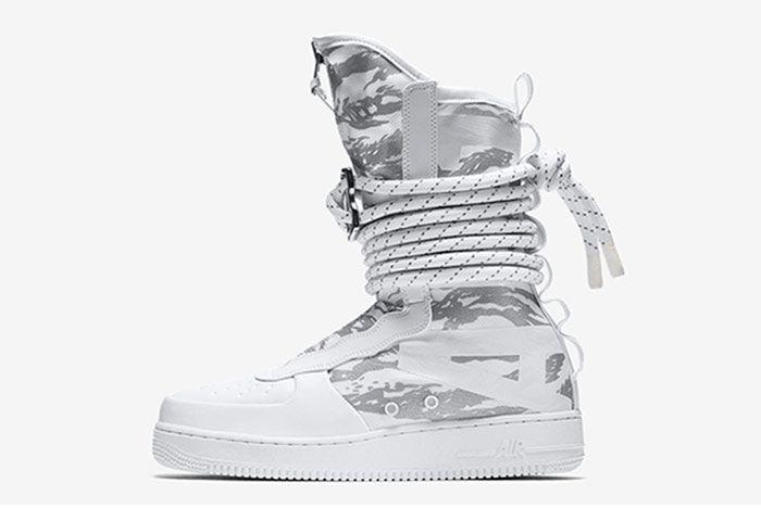 Nike Sf Air Force 1 High White