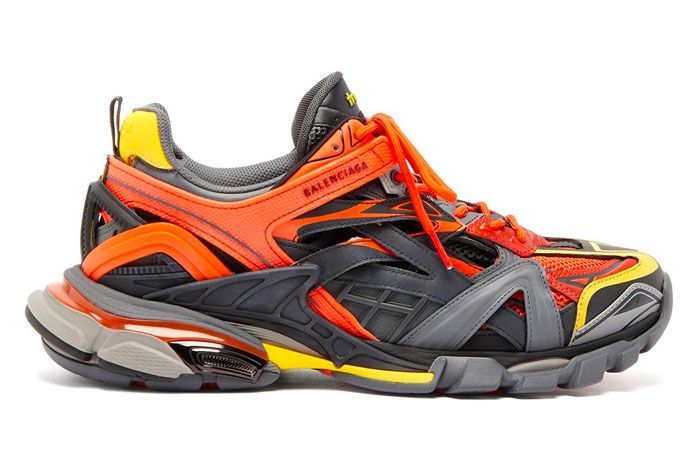 Balenciaga Track 2 Orange Yellow Right