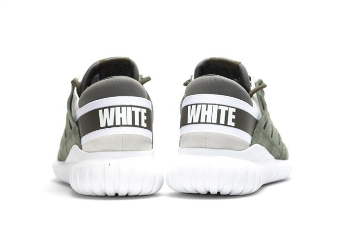 White Mountaineering Adidas Tubular Nova Olive Green 2