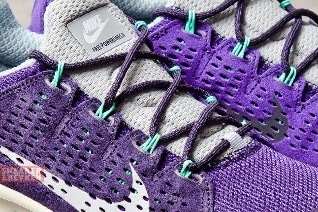 Nike Free Powerlines Ii Ltr Purple Dynasty Geyser Grey 2 Det