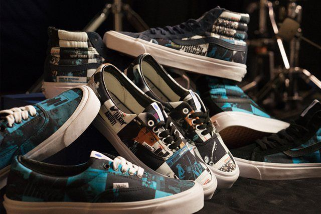 Dqm X Blu Note Records X Vans Collection 2