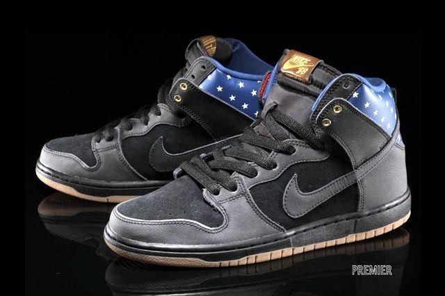 Nike Sb Dunk Hi Premium Stars 4