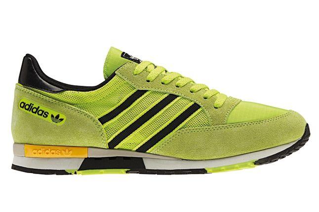 Adidas Spring Summer Neon Running Pack Green Yellow Profile 1