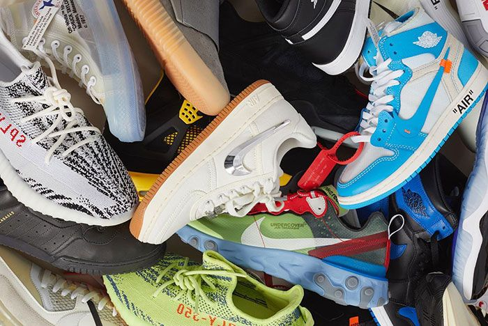 StockX Sneaker Pile