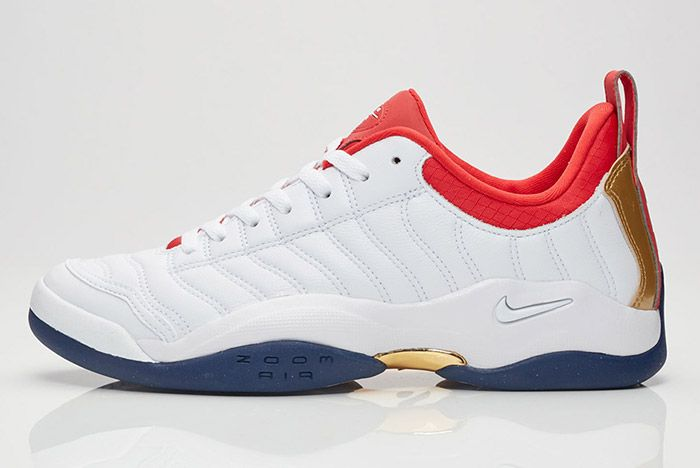 Nike Air Oscillate Red White Blue Usa 3