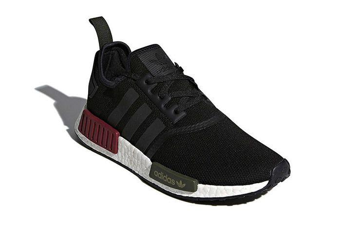Adidas Nmd R1 Burgundy Olive Sneaker Freaker