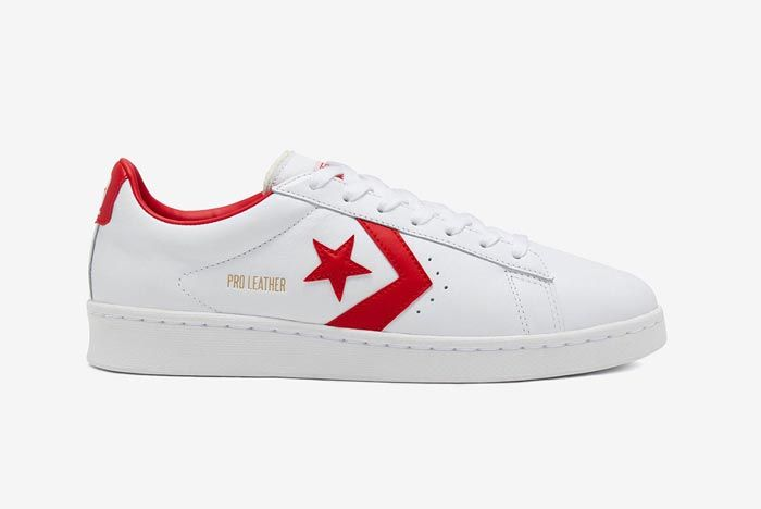 Converse Pro Leather Ox Red Lateral