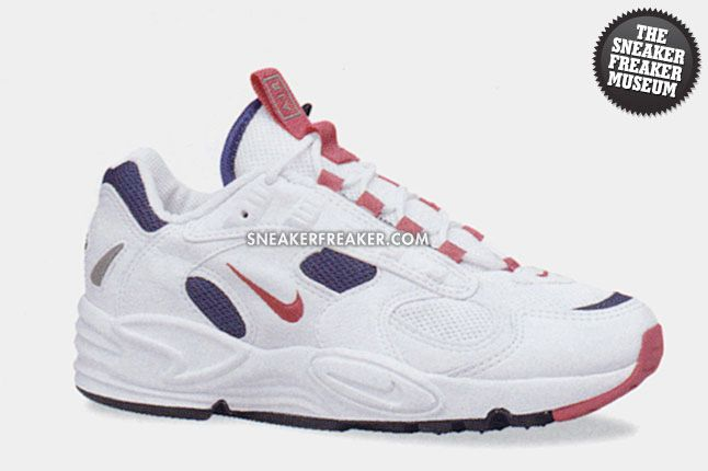 Nike Air Structure Triax 1996 White Copper Rose Navy 1