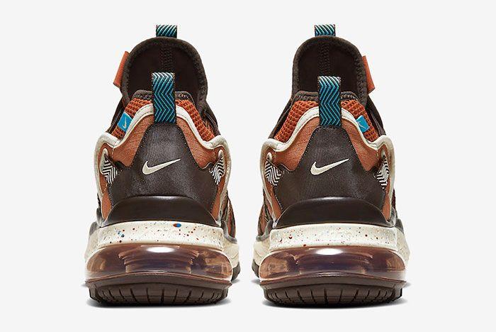 Nike Air Max 270 Bowfin Dark Russet Aj7200 202 Heels