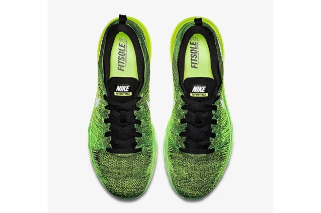 Nike Flyknit Air Max Voltage Green 3