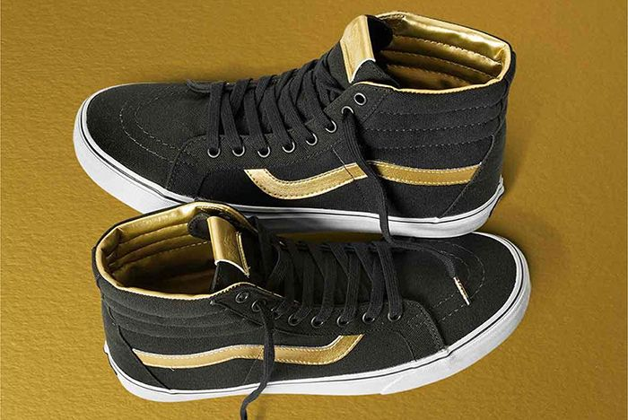 Vans 50 Th Anniversary Gold Collection6