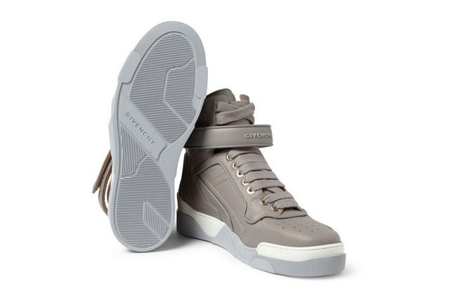 Givenchy Leather0High Top Sneakers 9