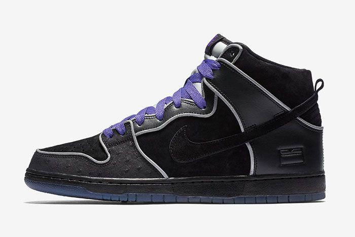 Nike Sb Dunk High Purple Box 2