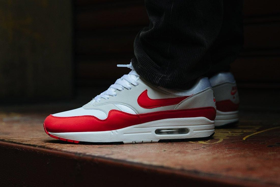 Nike Air Max 1 Anniversary Og Red White 19