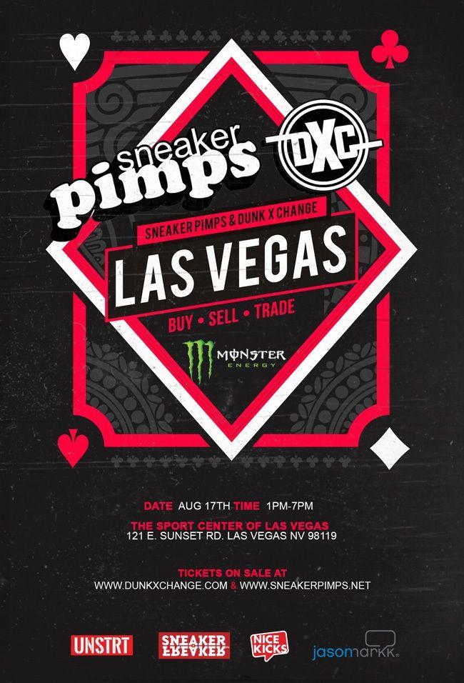 Sneaker Pimps Dunkxchange Las Vegas Flyer 1
