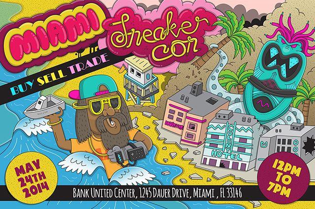 Sneaker Con Miami