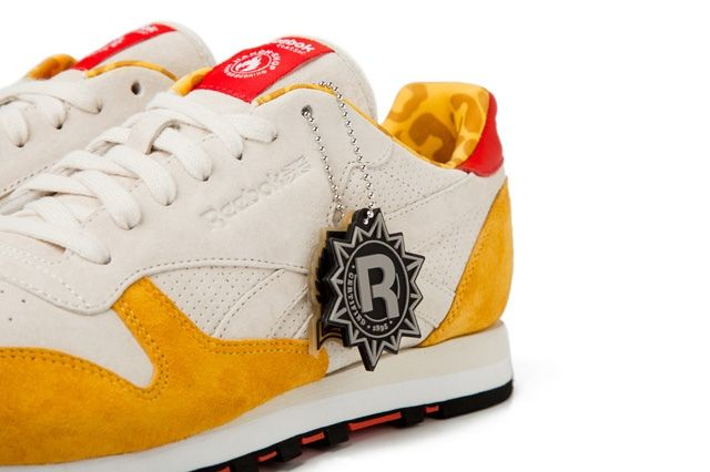 Hanon Shop X Reebok Classic Leather 30Th Anniversary Midfoot Quarter