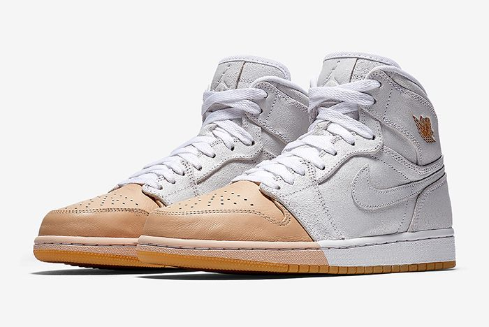 Air Jordan 1 Tan Dipped 5