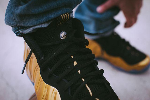Nike Foamposite Metallic Gold 5